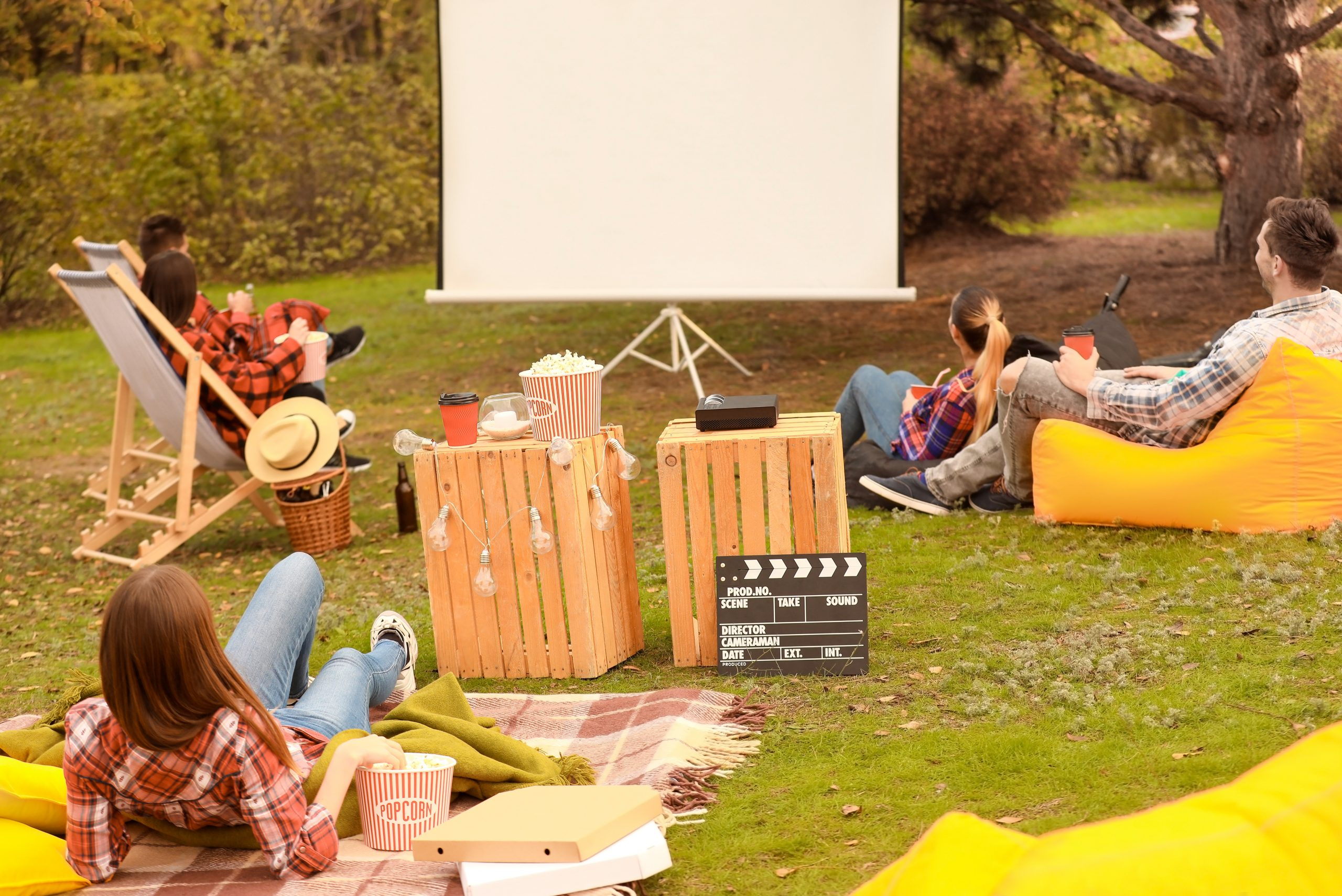 Tips for Planning an Outdoor Movie Night at Home